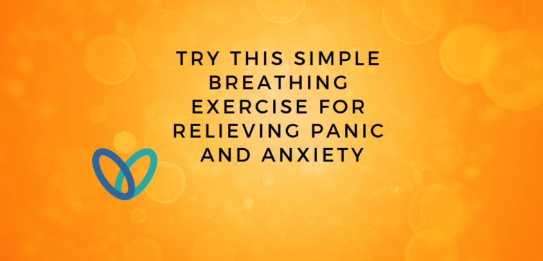 Breathing exercise title banner